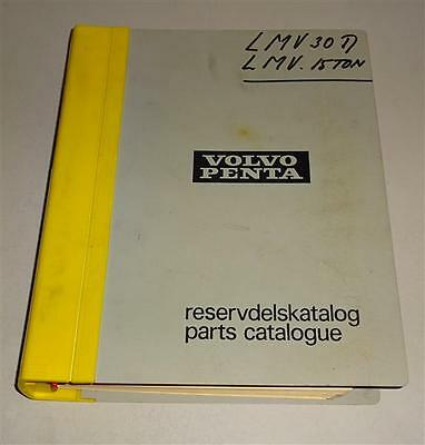 Parts Catalogue / Reservdelsktalog Volvo Penta Bottes D 42 - Td 120 Ak 10/1975