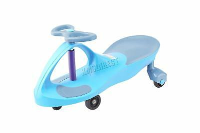FoxHunter NEW Twist Car Swivel Scooter Wiggle Toy for Kids Bike Blue