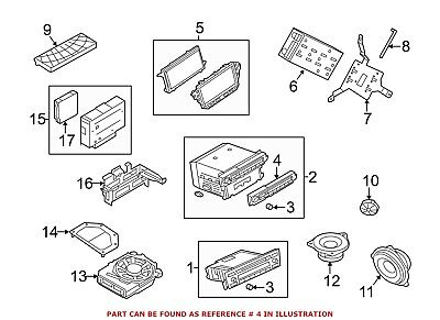 For BMW Genuine Radio Module Interface 65129270251