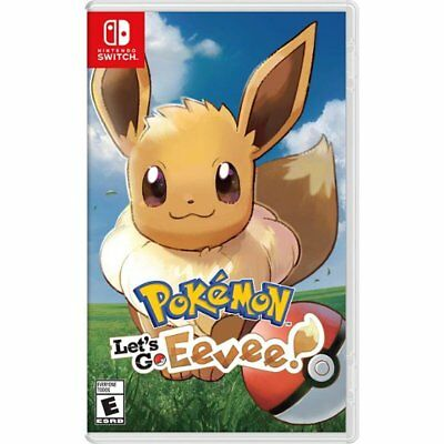 Pokemon Let's Go Eevee ! per Nintendo Switch Nuovo