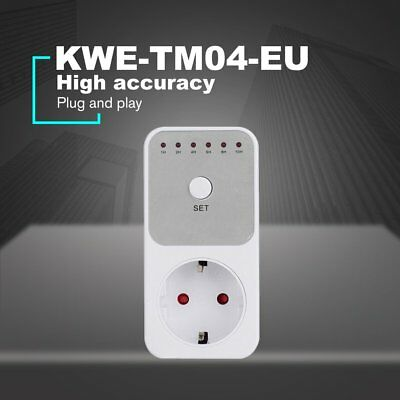 Mini LED Countdown Timer Switch Socket Outlet Plug-in Time Control EU Plug 8