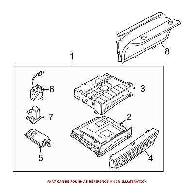For BMW Genuine Radio Module Interface 65839119607