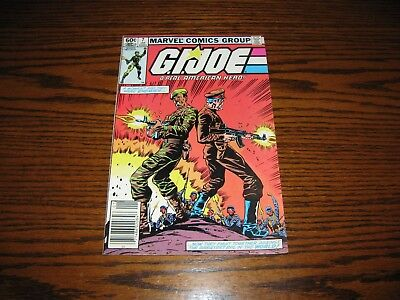 Marvel - G.I. JOE Real American Hero #7 Comic! Glossy VG+ First Print! 1983