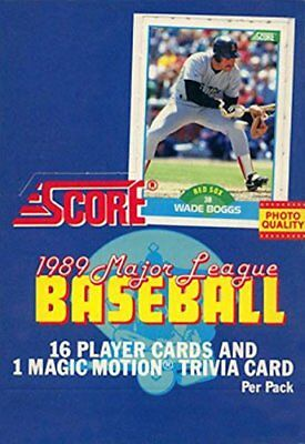 1989 Score Baseball Team Set Baseball Cards Pick From List