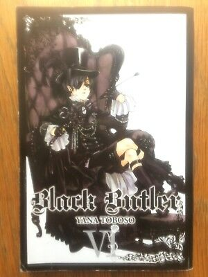 Black Butler | Kuroshitsuji, Volumes 6-7-11, Good Condition (Used)