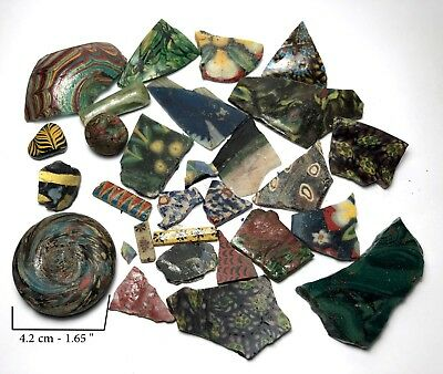 30 Ancient Egyptian Glass Fragment