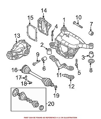 This Is The Realoem Drawing Showing The Expansion Tank Retainer Pc