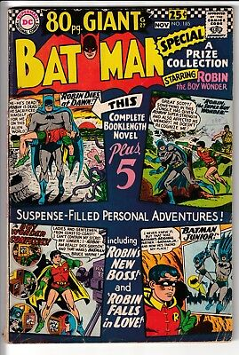 BATMAN #185, 80 PAGE GIANT, DC Comics (1966)