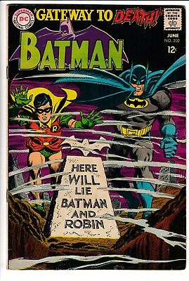 BATMAN #202, DC Comics (1968)
