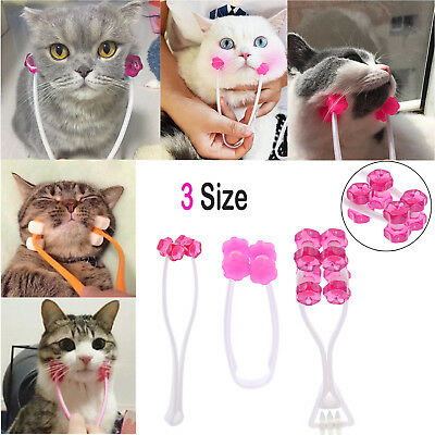 Puppy Pet Dog Cat Body Massage Roller Ball Thin Face Feet Legs Relief Massager