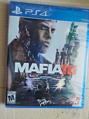 MAFIA III 3 - Playstation 4, PS4 - Brand New. FREE SHIPPING