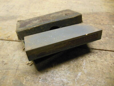 vintage NORTON India combination oil sharpening stone  old chisel knife tool