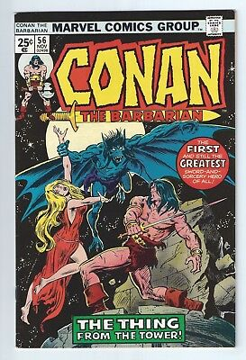 CONAN THE BARBARIAN #56 (1975) VFN 8.0 unstamped cents