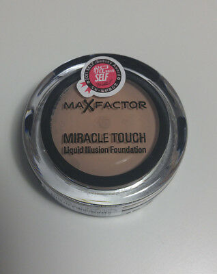 MAX FACTOR Miracle Touch Liquid Illusion Foundation 55 Blushing Beige 11,5g NEU