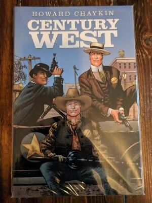 Century West by Howard Chaykin TPB Published by Image Comics