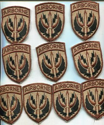 DEALER LOT OF 10 US Army 1st Cavalry ACU Patches - $7 00