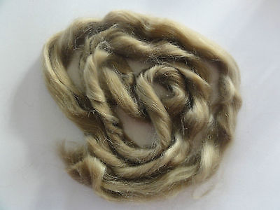 MOHAIR for rooting- REBORN Doll making supplies 25g (0.9 oz) Ash blond