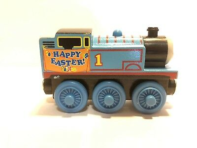 Thomas The Tank Engine Train Wooden Happy Easter