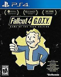 Fallout 4: Game of the Year Edition (Sony PlayStation 4, 2017)