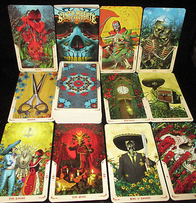 Sealed & Brand New! Santa Muerte Book Of The Dead Tarot Card & Book Oracle