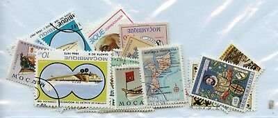 MOZAMBIQUE--Lot of 31 different stamps