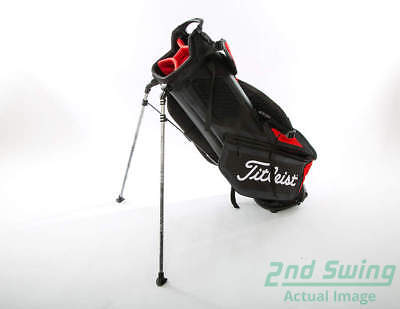 34c9405414b NEW TITLEIST PLAYERS 4 Stand Bag Black Red With Rain Cover - EUR 175,78    PicClick FR