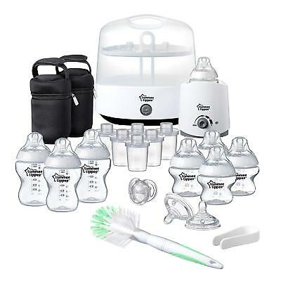 Tommee Tippee Closer to Nature Complete Feeding Set - White (Brand New)