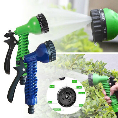 7 Patterns Water Nozzle Head Hose Sprayer Garden Spray Auto Car Washing Gun