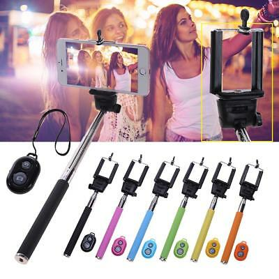 Extendable Adjustable Handheld Bluetooth Selfie Stick Monopod For Mobile Phone
