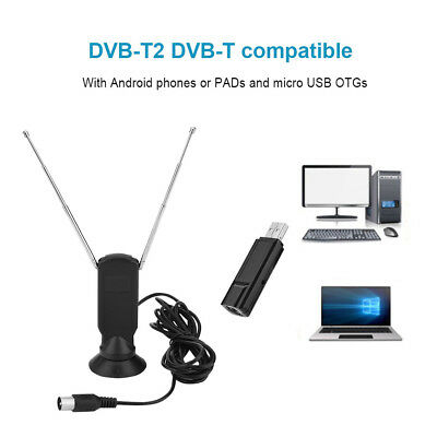 Ricevitore Di Segnale Digitale USB Video TV DVB-T / T2 Per Android PC Tablet OTG