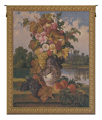 """Guardians of the Crown Vertical Woven Decor Wall Hanging Tapestry 72 x 52/"""""""