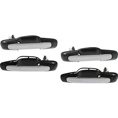 New Outer Door Handle Rear Right Side 04-06 Chevy Aveo Pontiac Wave GM1520139