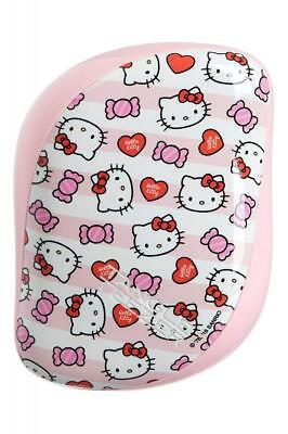 Tangle Teezer Brosse Démêlante Compact Styler Hello Kitty Candy Stripes