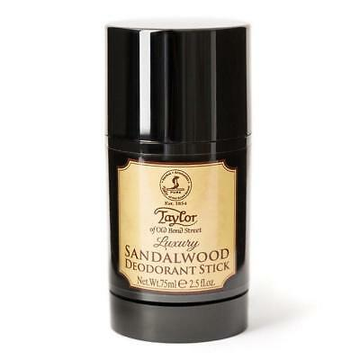 Taylor of Old Bond Street Déodorant en Stick Sandalwood - 75 ml