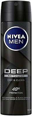 Nivea Men Lot de 6 déodorants anti-transpirants en spray pour homme, 150 ml