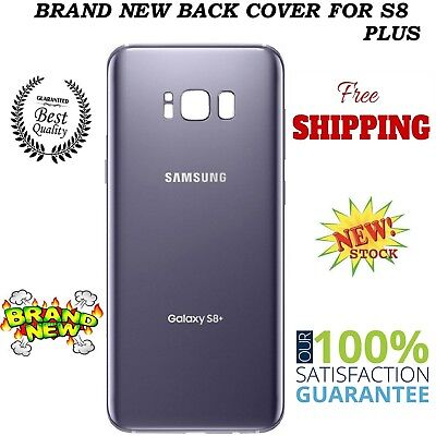 Samsung Galaxy S8 Plus G955 Battery GREY Back Cover Glass With 2 Years Warranty