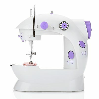 Mini Electric Handheld Sewing Machine Speed Adjustment with Light Foot 100-240V