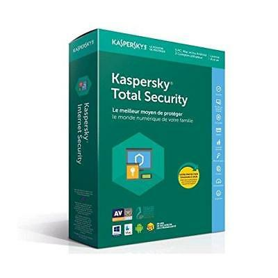 Kaspersky Total Security 2018 | 5 Postes | 1 An | PC/Mac/Android/iOS |...