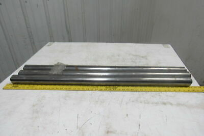"""2.19"""" OD x 41-1/8"""" BF Gravity Conveyor Roller 11/16"""" Hex Bore Lot Of 3"""