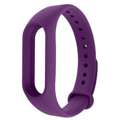 Bracelet Strap Watchband Wristband Replacement for Xiaomi Mi Band 4 / 3 Purple