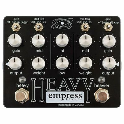 Empress Effects Heavy - b-stock (1x opened box) *NEW* distortion processing unit