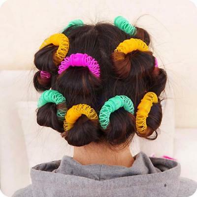 Fashion Hairdress Magic Bendy Styling Curls Tool Spiral Hair Roller