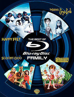 NEW,SEALED The Best of Blu-Ray: Family (Bluray Disc, 2007, 4-Disc Set) free ship