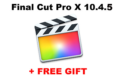 Final Cut Pro 10.4.4 MACos + GIFT/Instant delivery/installation without problems