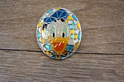 Disney Hong Kong Parks HKDL Mosaic Collection Stained Glass Donald Duck Pin