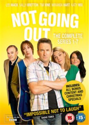 Lee Mack, Miranda Hart-Not Going Out: The Complete Series 1-7 DVD NEW