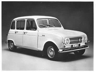 1969 Renault 4 ORIGINAL Factory Photo oac1244