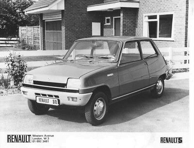 1978 Renault 5 TL ORIGINAL Factory Photo oac1257