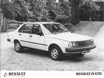 1981 Renault 18 GTD ORIGINAL Factory Photo oac1298