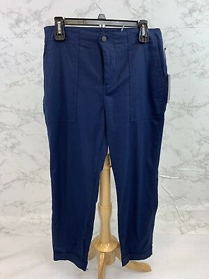Ivanka Trump Women's Navy Blue Pants Size 12 $79